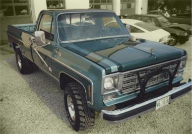 Restored '75 Chevy Pickup